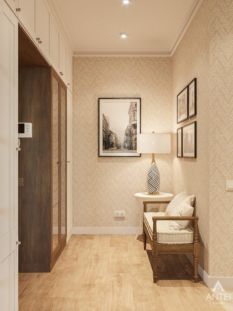 Дизайн интерьера двухкомнатной квартиры в Гомеле, ул. Волотовская - прихожая фото №1