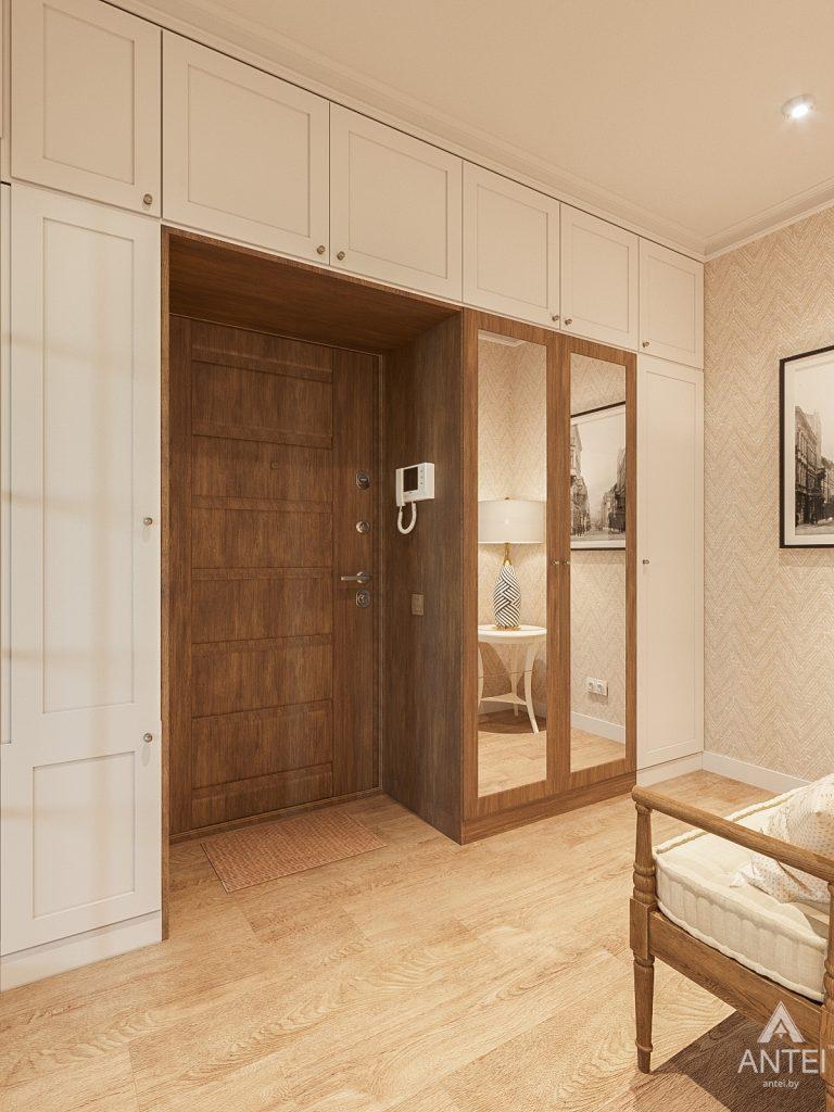 Дизайн интерьера двухкомнатной квартиры в Гомеле, ул. Волотовская - прихожая фото №2