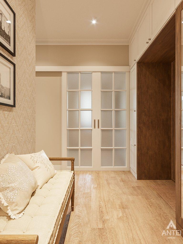 Дизайн интерьера двухкомнатной квартиры в Гомеле, ул. Волотовская - прихожая фото №3