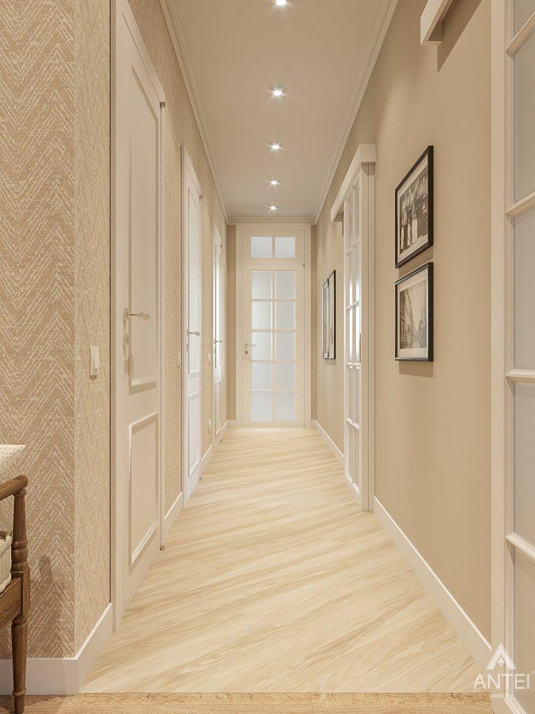 Дизайн интерьера двухкомнатной квартиры в Гомеле, ул. Волотовская - прихожая фото №4