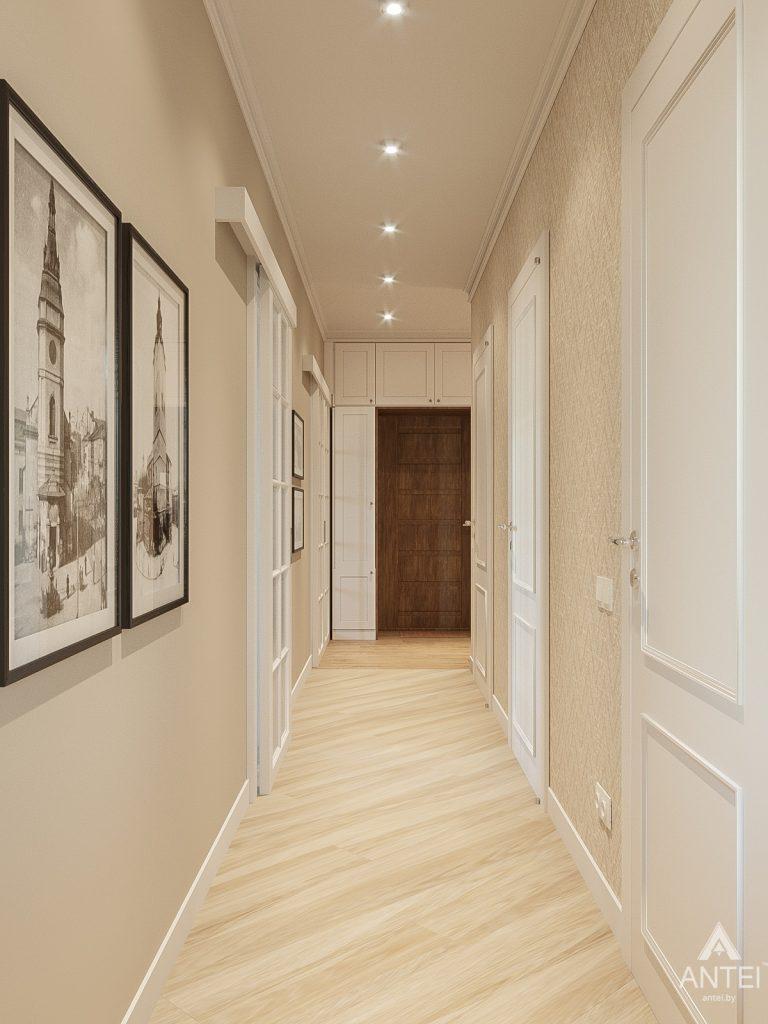 Дизайн интерьера двухкомнатной квартиры в Гомеле, ул. Волотовская - прихожая фото №5