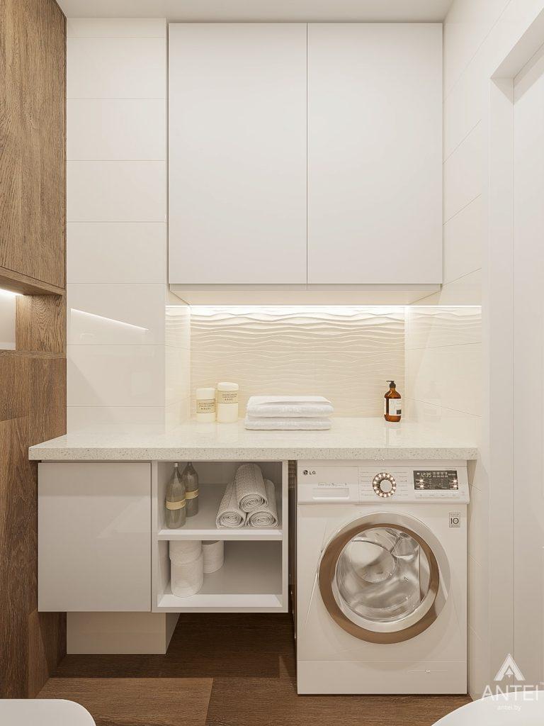 Дизайн интерьера двухкомнатной квартиры в Гомеле, ул. Волотовская - санузел фото №3