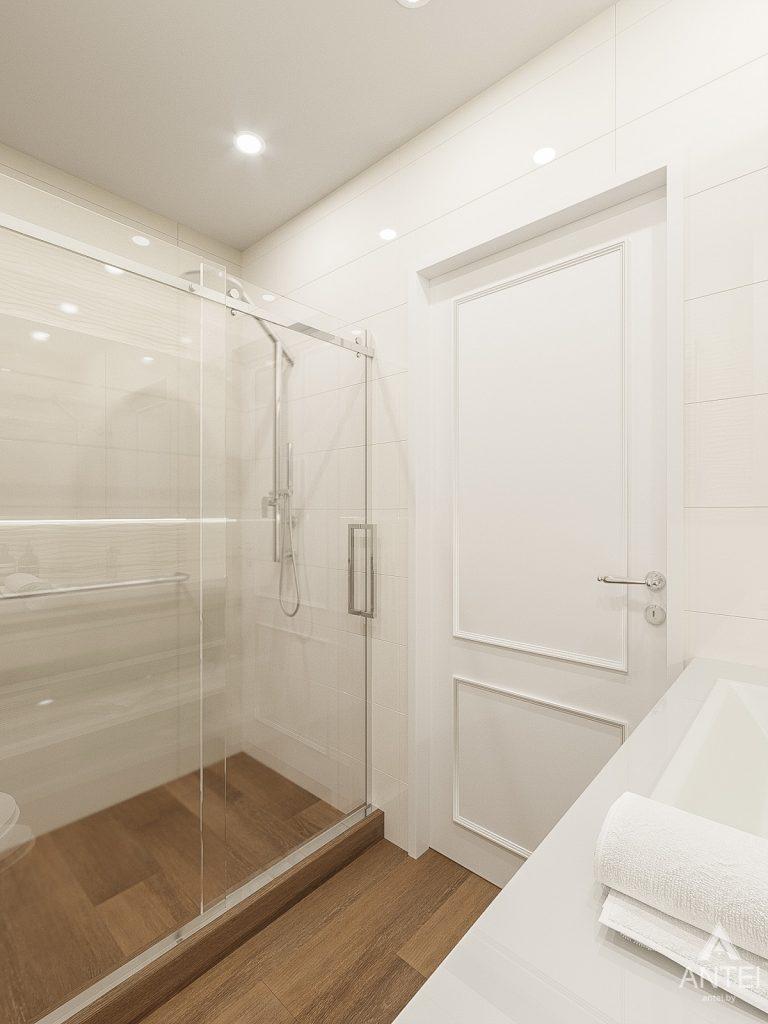 Дизайн интерьера двухкомнатной квартиры в Гомеле, ул. Волотовская - ванная фото №2