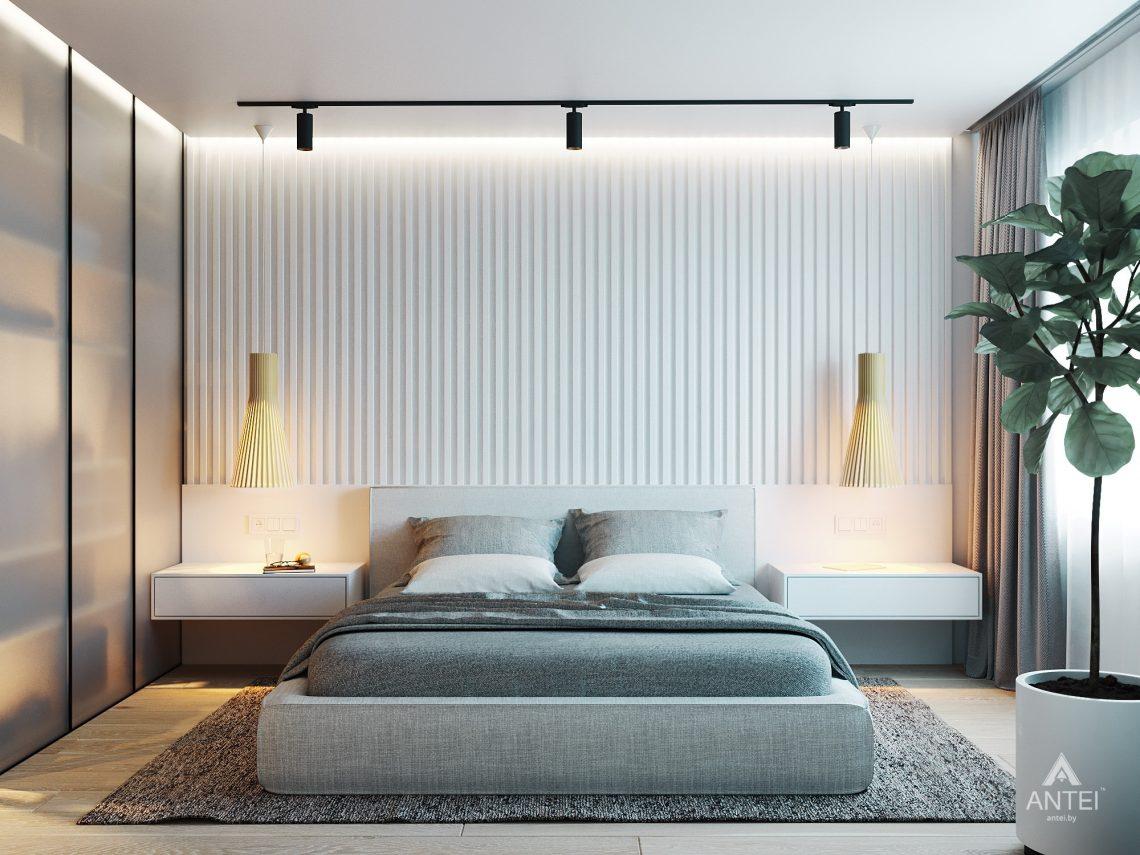 Дизайн интерьера двухкомнатной квартиры в Жлобине, ул. Карла Маркса- спальня фото №3