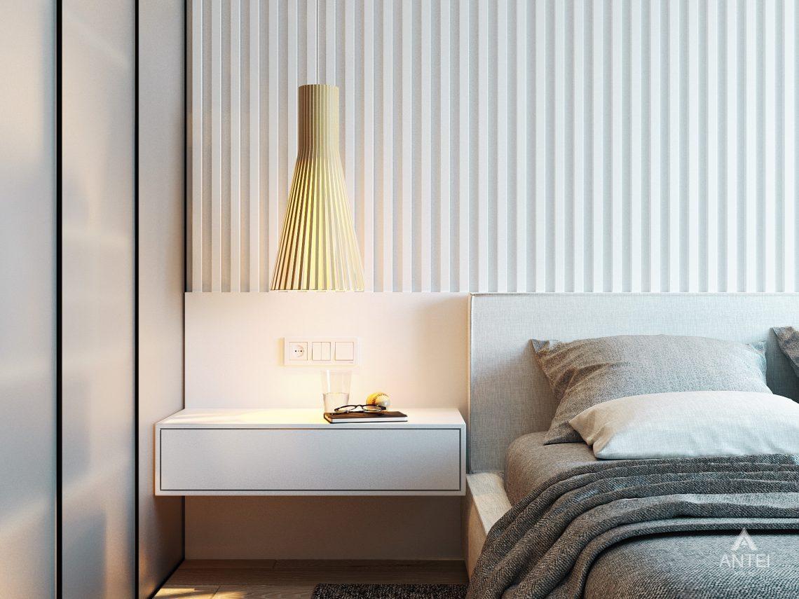 Дизайн интерьера двухкомнатной квартиры в Жлобине, ул. Карла Маркса- спальня фото №4