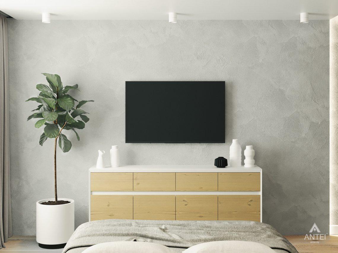 Дизайн интерьера двухкомнатной квартиры в Жлобине, ул. Карла Маркса- спальня фото №6