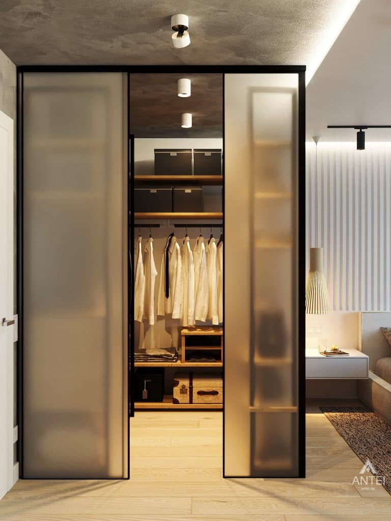 Дизайн интерьера двухкомнатной квартиры в Жлобине, ул. Карла Маркса- спальня фото №7