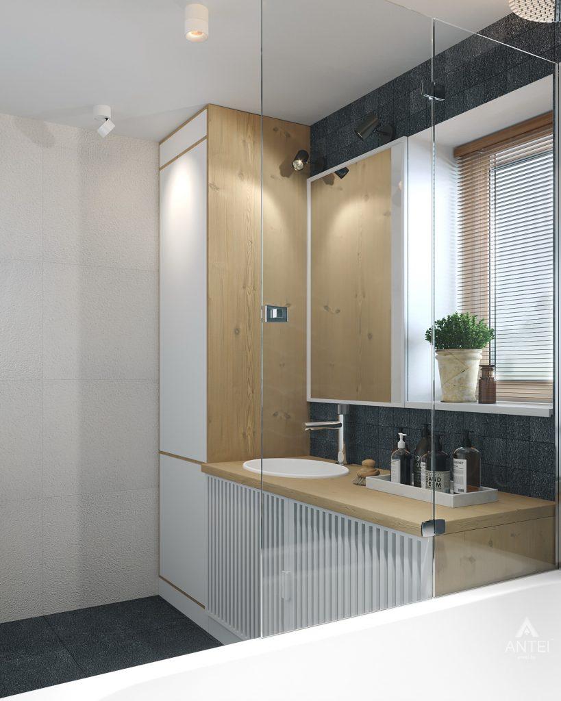 Дизайн интерьера двухкомнатной квартиры в Жлобине, ул. Карла Маркса- ванная фото №3