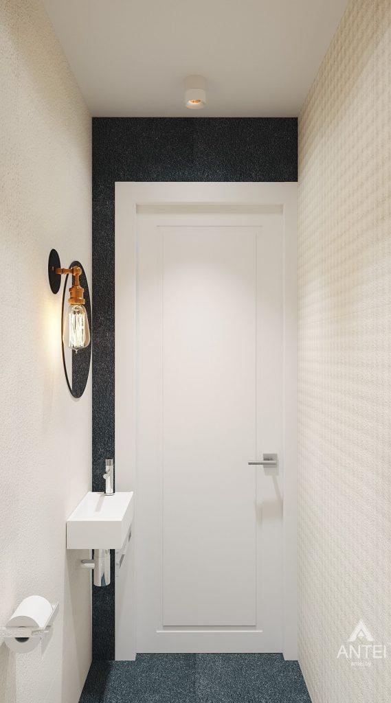 Дизайн интерьера двухкомнатной квартиры в Жлобине, ул. Карла Маркса- санузел фото №2