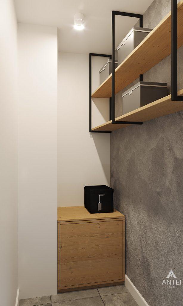 Дизайн интерьера двухкомнатной квартиры в Жлобине, ул. Карла Маркса- прихожая фото №5