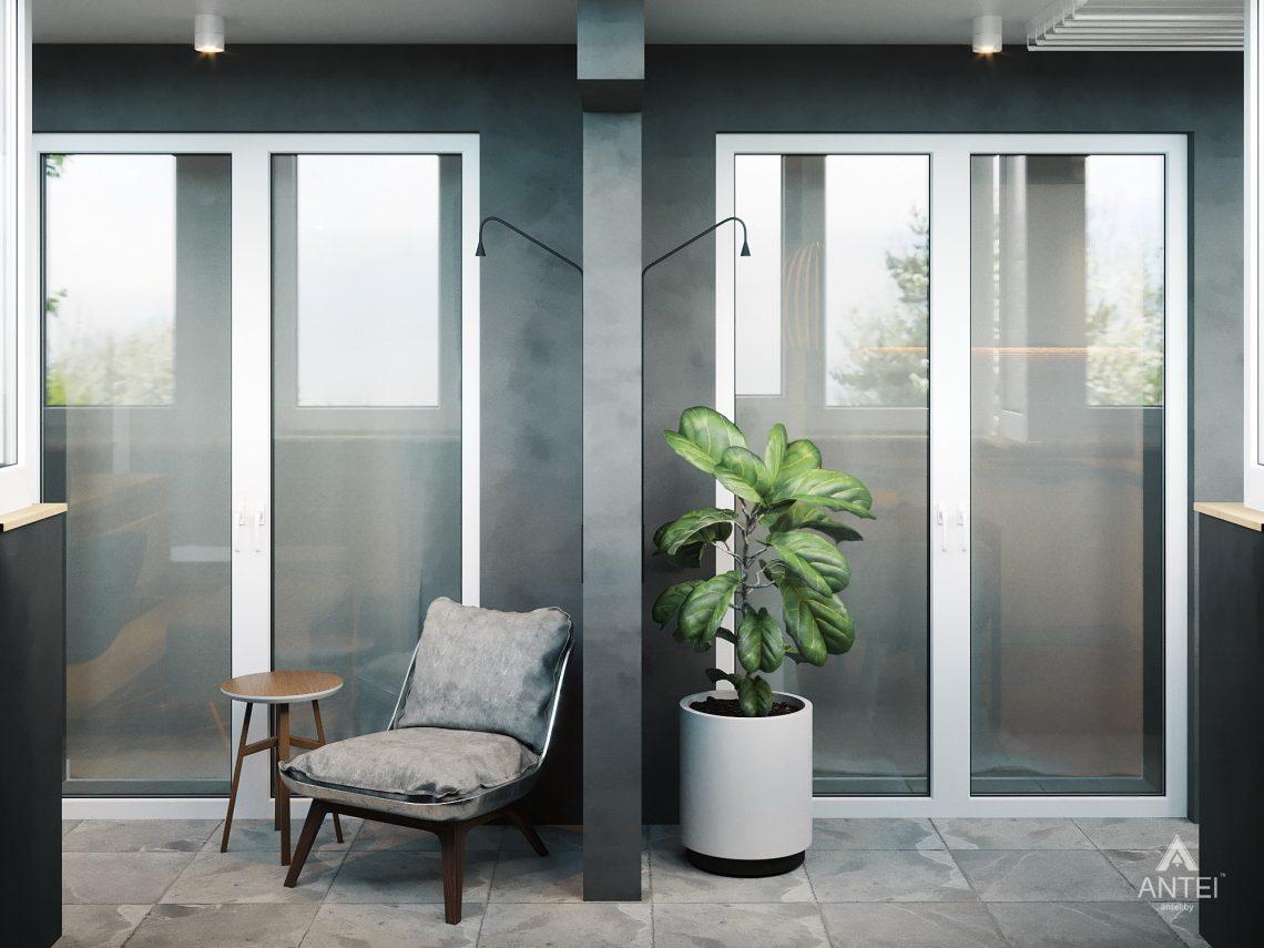 Дизайн интерьера двухкомнатной квартиры в Жлобине, ул. Карла Маркса- балкон фото №1