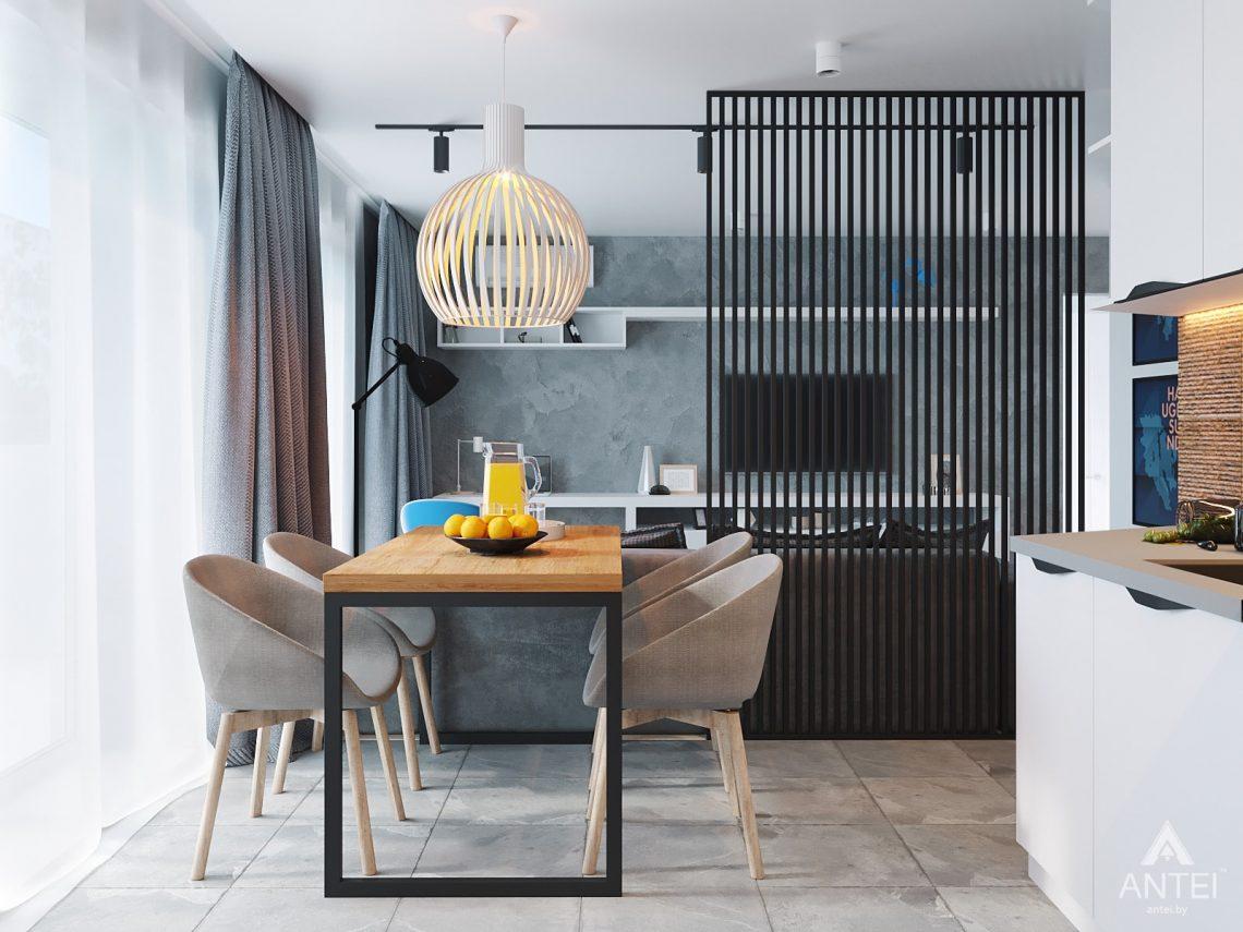 Дизайн интерьера двухкомнатной квартиры в Жлобине, ул. Карла Маркса- кухня фото №2