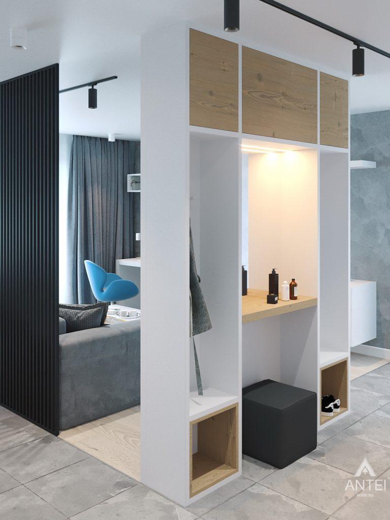 Дизайн интерьера двухкомнатной квартиры в Жлобине, ул. Карла Маркса- прихожая фото №1