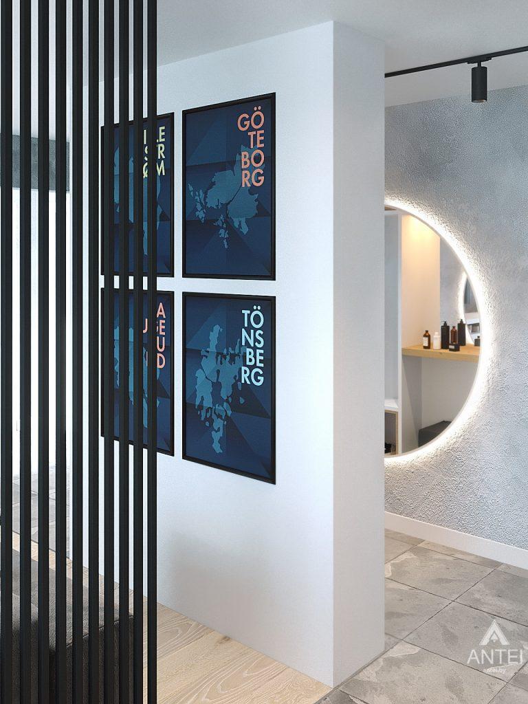 Дизайн интерьера двухкомнатной квартиры в Жлобине, ул. Карла Маркса- прихожая фото №2
