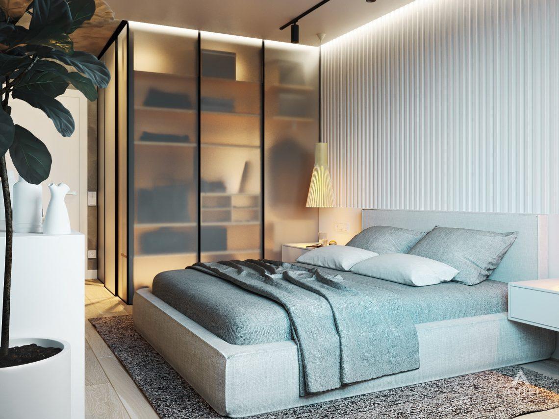 Дизайн интерьера двухкомнатной квартиры в Жлобине, ул. Карла Маркса- спальня фото №1