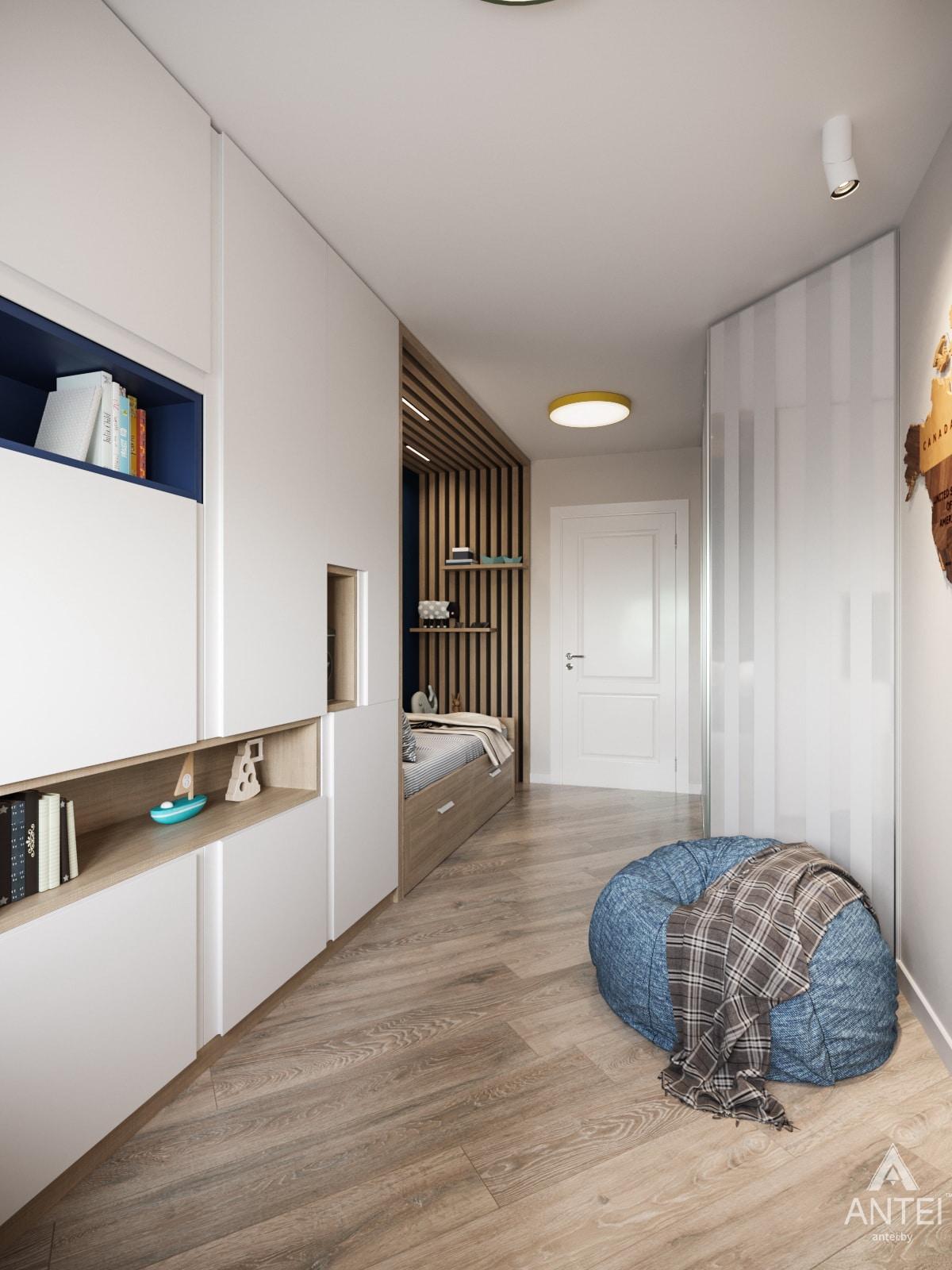 Дизайн интерьера трехкомнатной квартиры в Гомеле, ул. Бородина Т.С. - детская комната фото №5