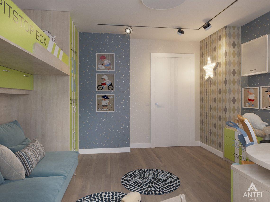 Дизайн интерьера четырехкомнатной квартиры в Гомеле, ул. Советская - детская комната фото №5