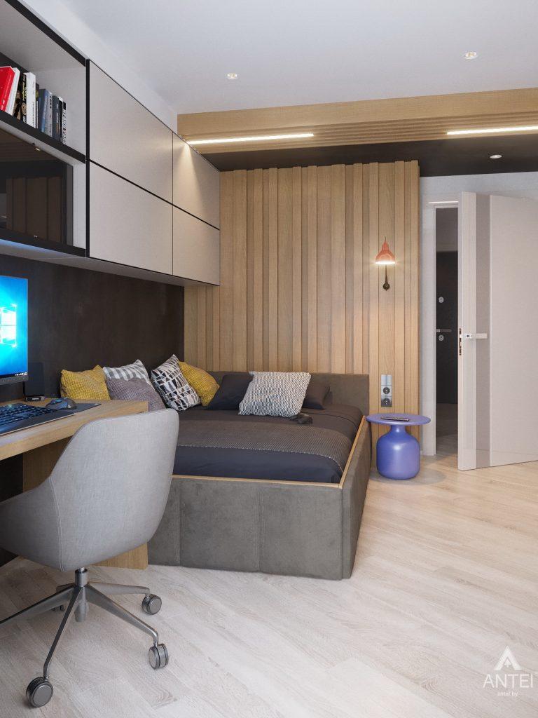 Дизайн интерьера четырехкомнатной квартиры в Гомеле, ул. Советская - детская комната фото №6