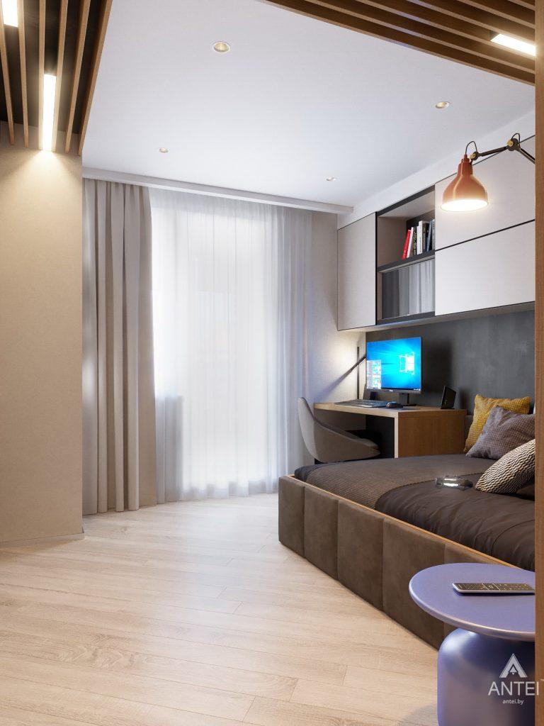 Дизайн интерьера четырехкомнатной квартиры в Гомеле, ул. Советская - детская комната фото №7