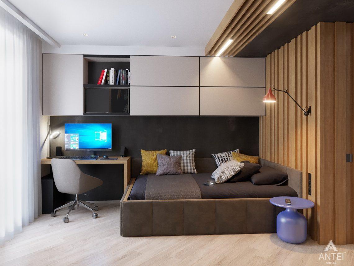 Дизайн интерьера четырехкомнатной квартиры в Гомеле, ул. Советская - детская комната фото №8