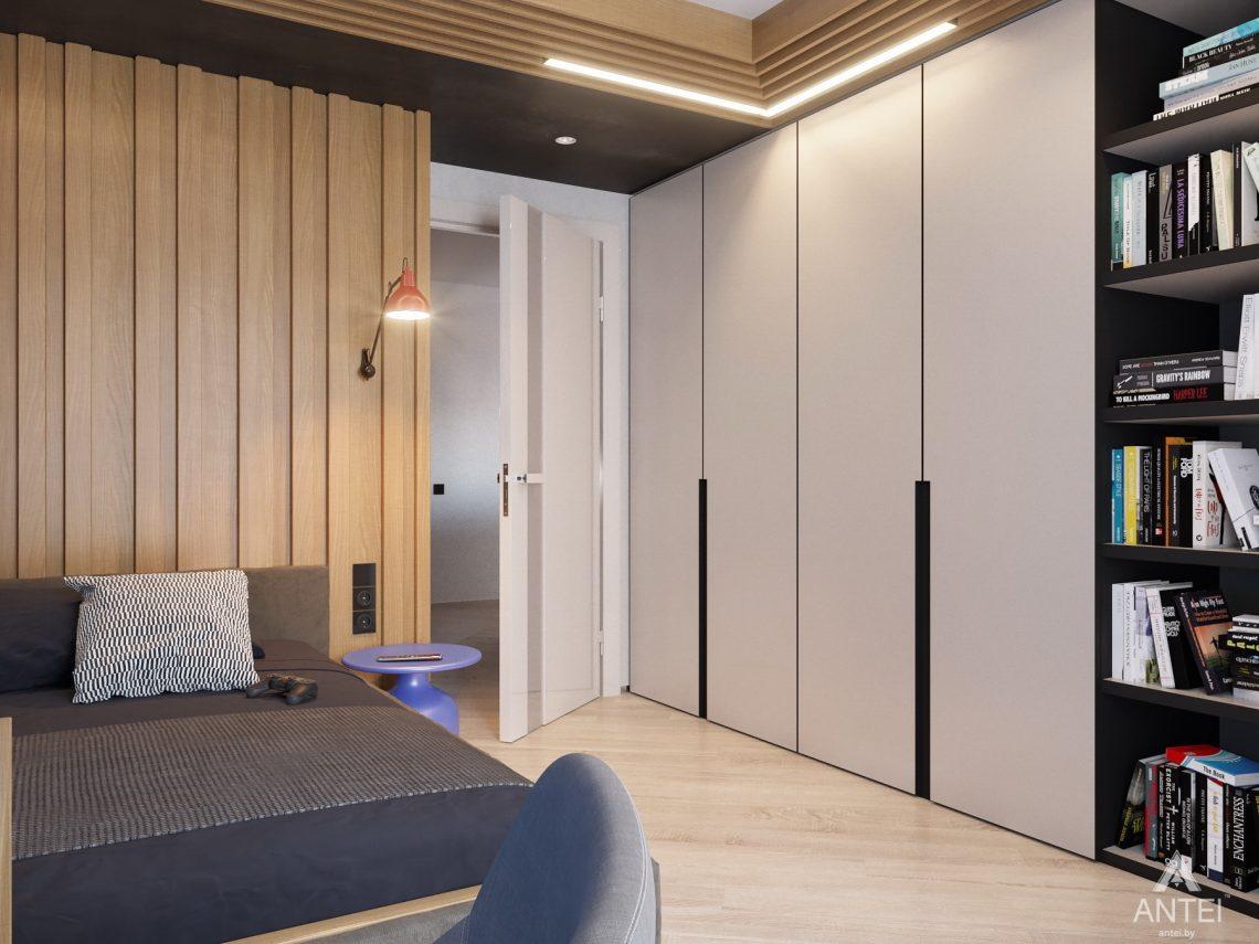 Дизайн интерьера четырехкомнатной квартиры в Гомеле, ул. Советская - детская комната фото №10