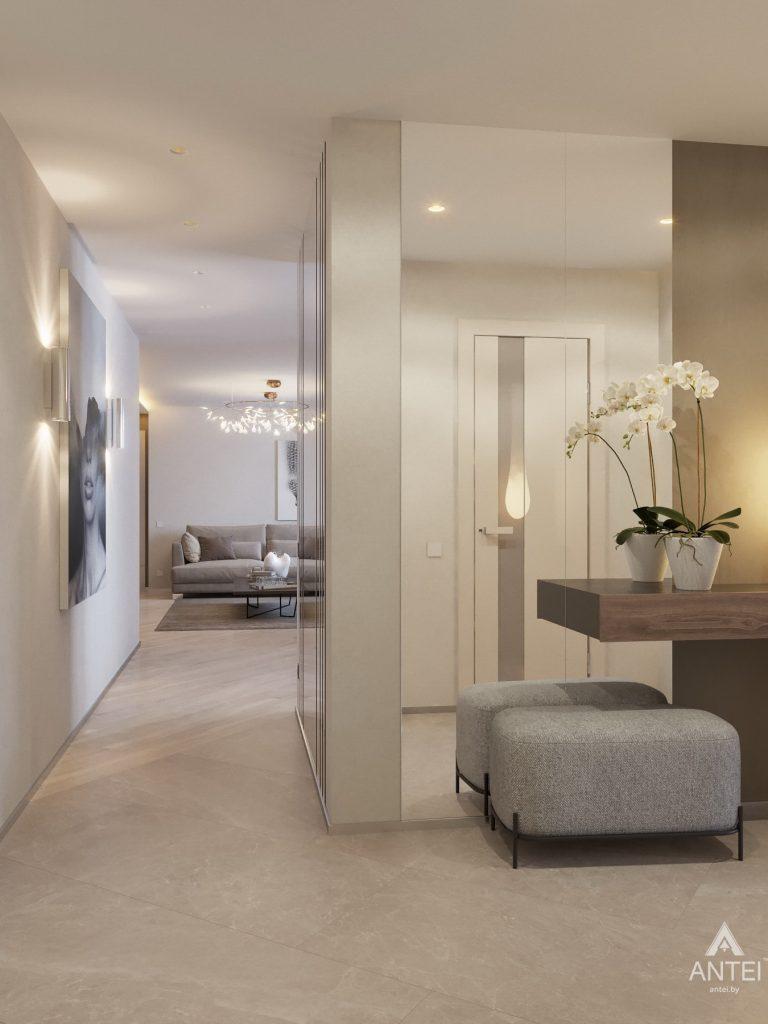 Дизайн интерьера четырехкомнатной квартиры в Гомеле, ул. Советская - коридор фото №3