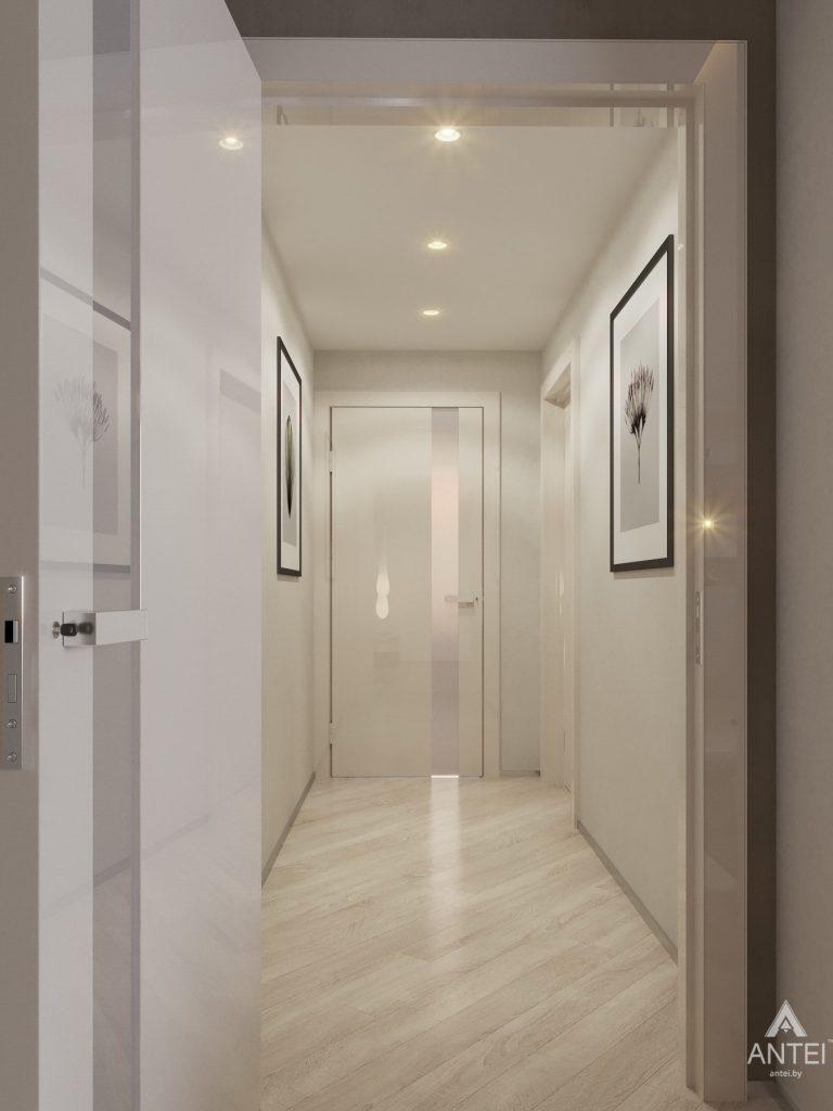 Дизайн интерьера четырехкомнатной квартиры в Гомеле, ул. Советская - коридор фото №4