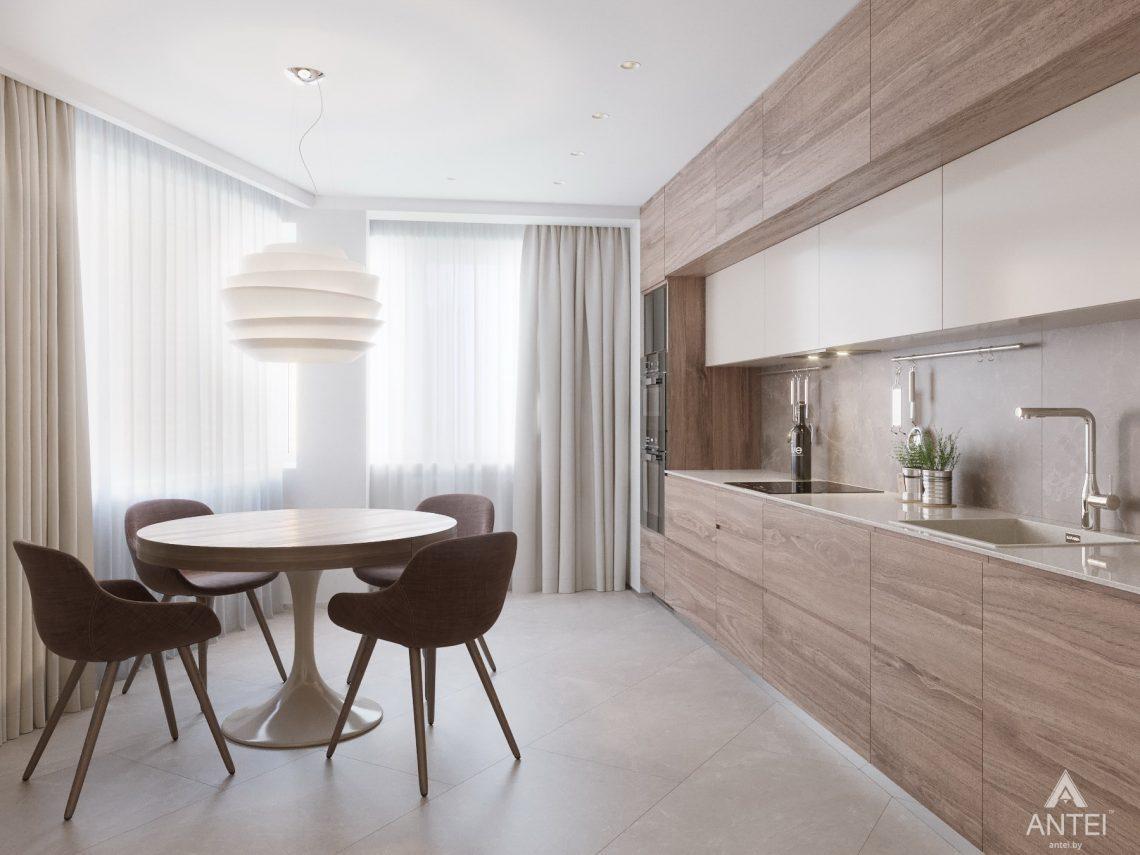 Дизайн интерьера четырехкомнатной квартиры в Гомеле, ул. Советская - кухня фото №2
