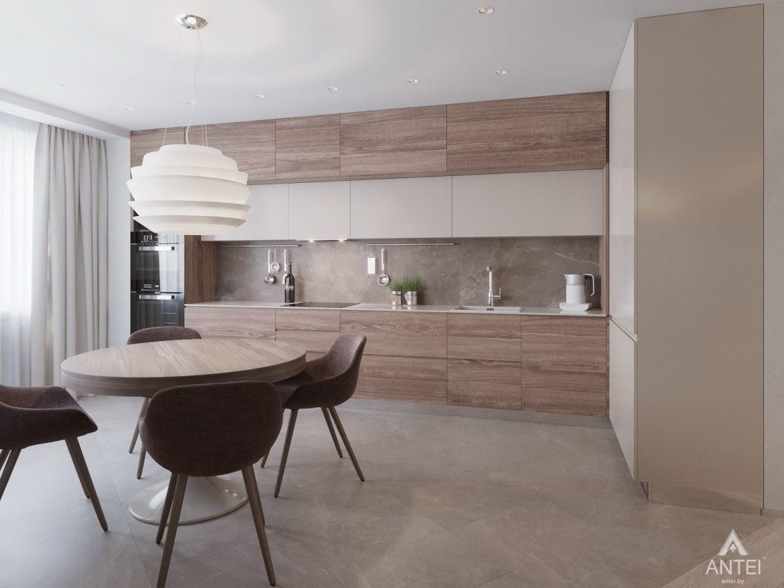 Дизайн интерьера четырехкомнатной квартиры в Гомеле, ул. Советская - кухня фото №1