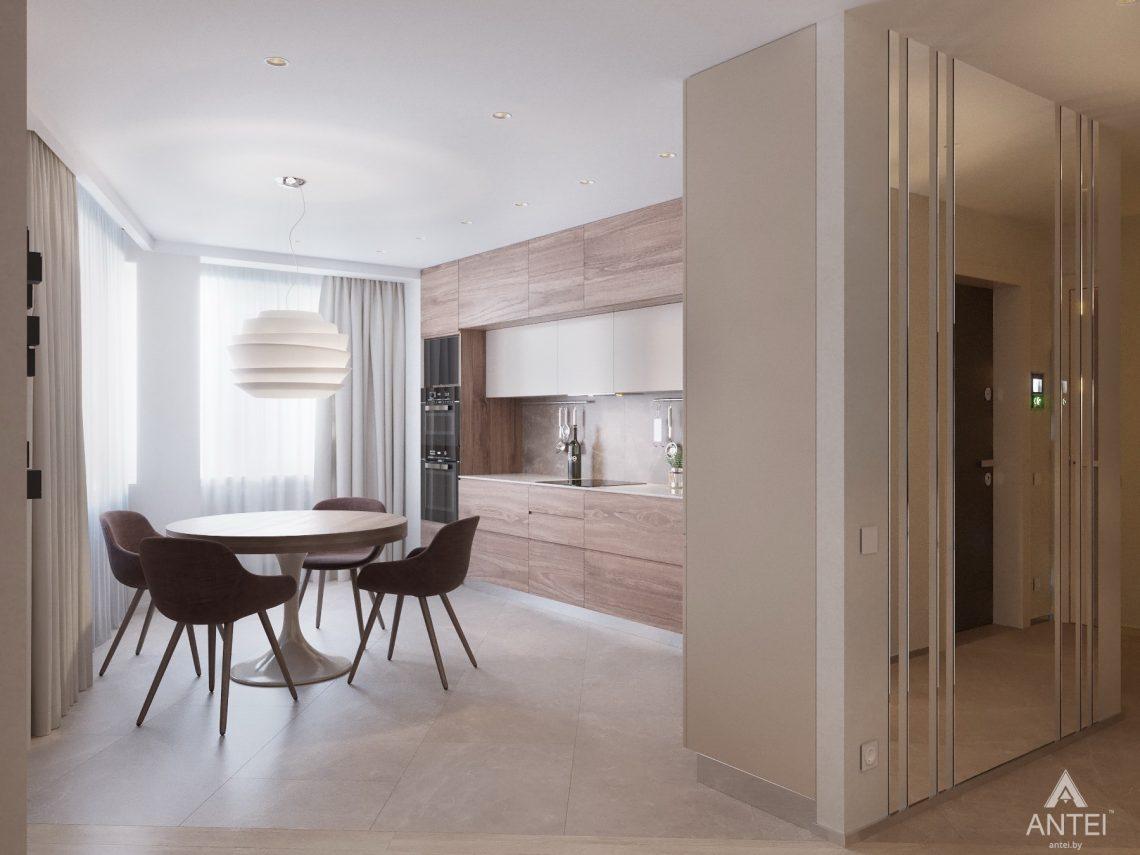 Дизайн интерьера четырехкомнатной квартиры в Гомеле, ул. Советская - кухня фото №4