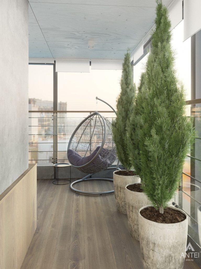 Дизайн интерьера четырехкомнатной квартиры в Гомеле, ул. Советская - терасса фото №3