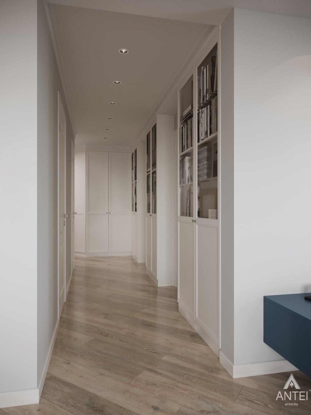 Дизайн интерьера трехкомнатной квартиры в Гомеле, ул. Бородина Т.С. - прихожая фото №1