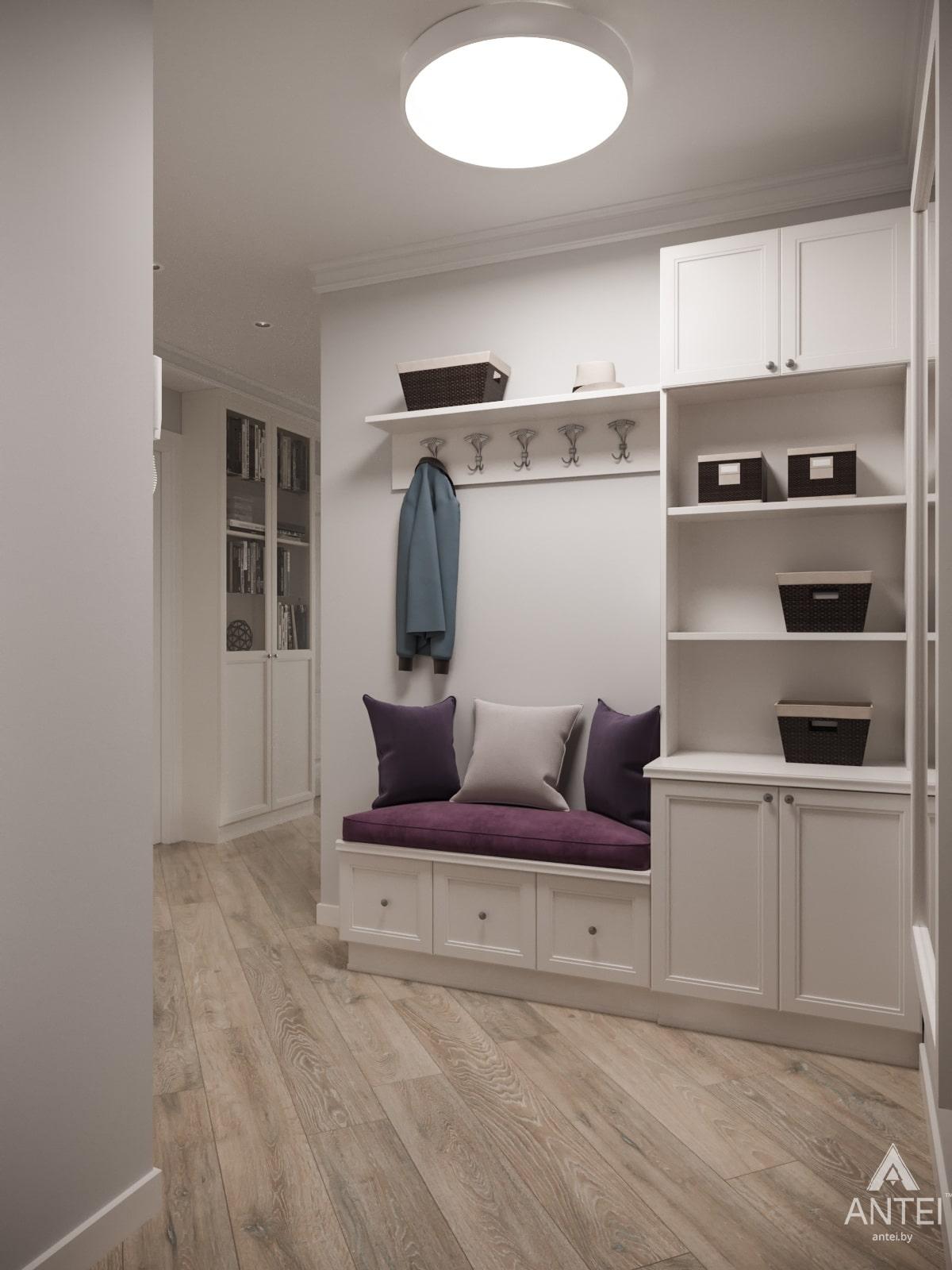 Дизайн интерьера трехкомнатной квартиры в Гомеле, ул. Бородина Т.С. - прихожая фото №2