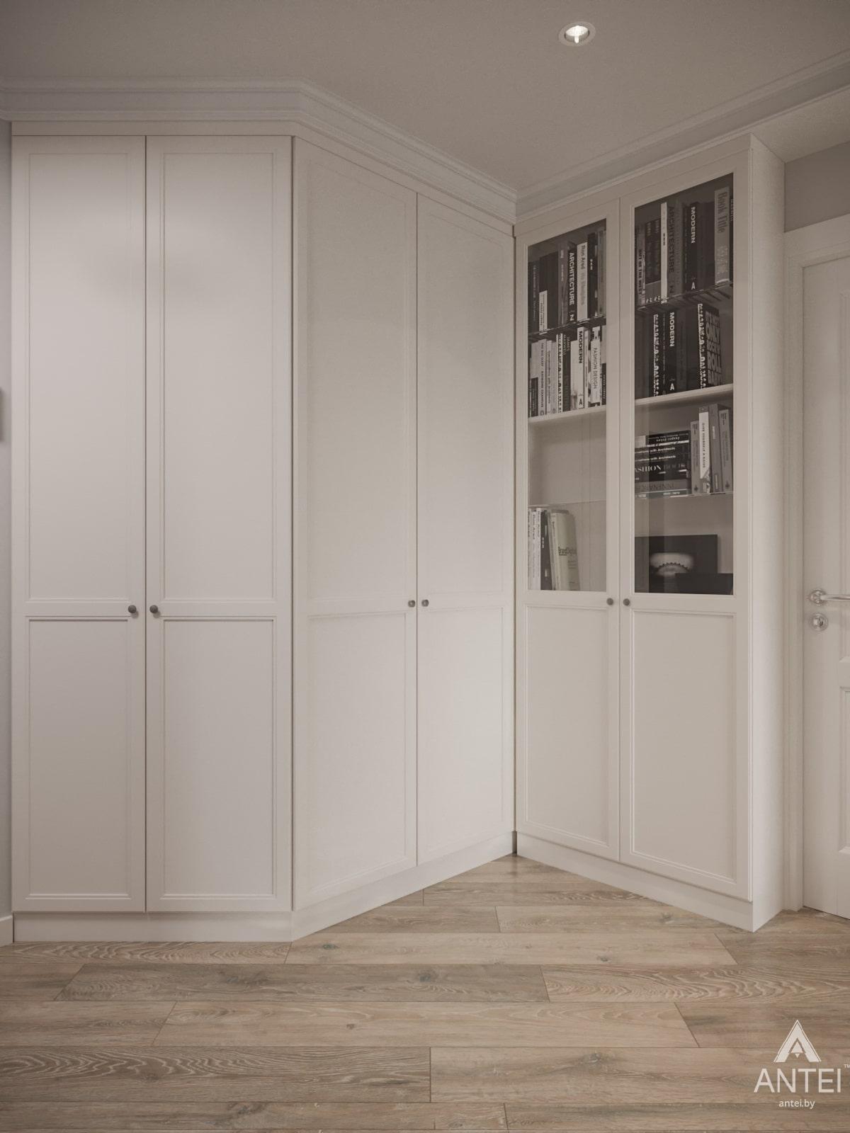 Дизайн интерьера трехкомнатной квартиры в Гомеле, ул. Бородина Т.С. - прихожая фото №3