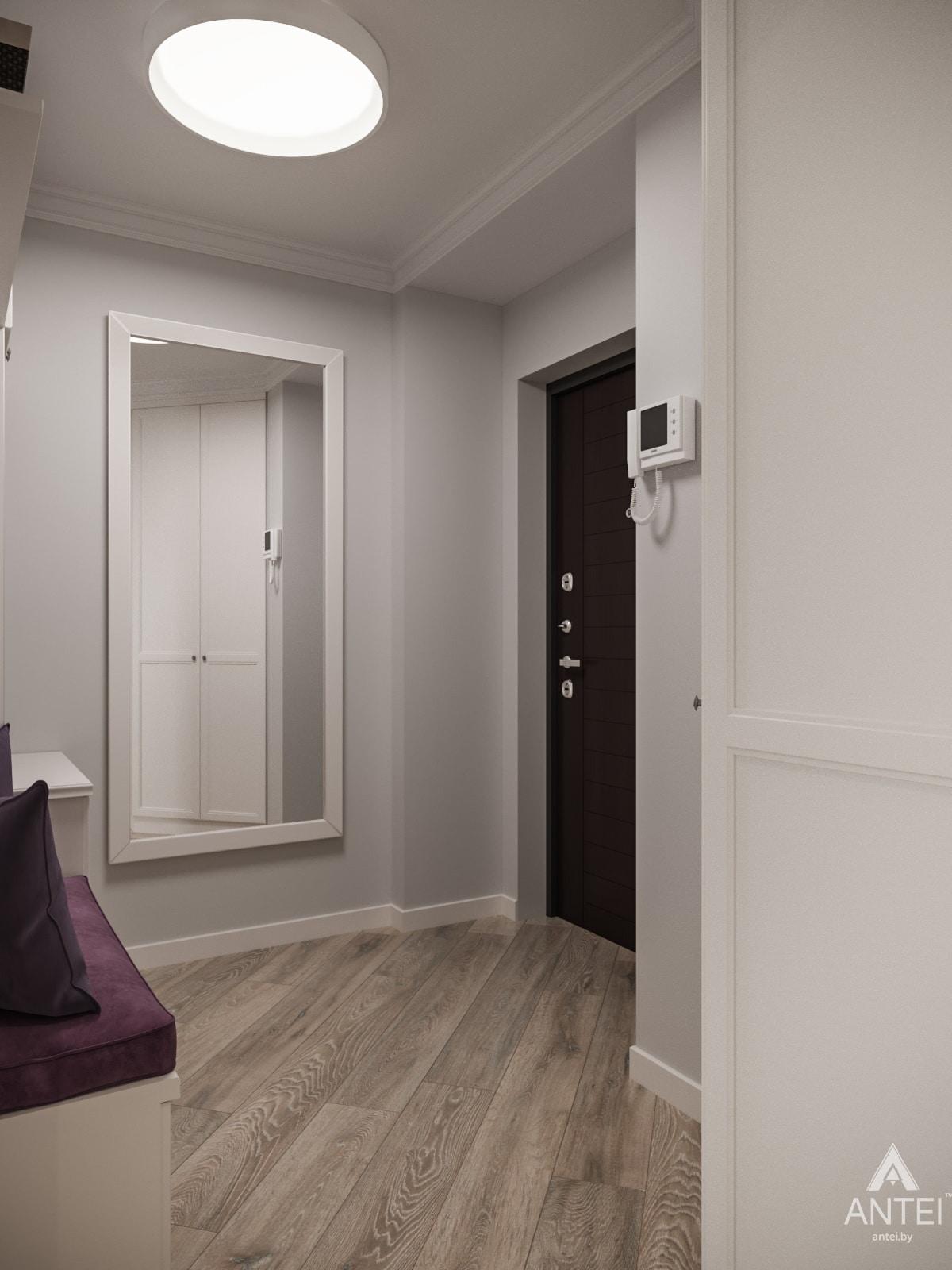 Дизайн интерьера трехкомнатной квартиры в Гомеле, ул. Бородина Т.С. - прихожая фото №4