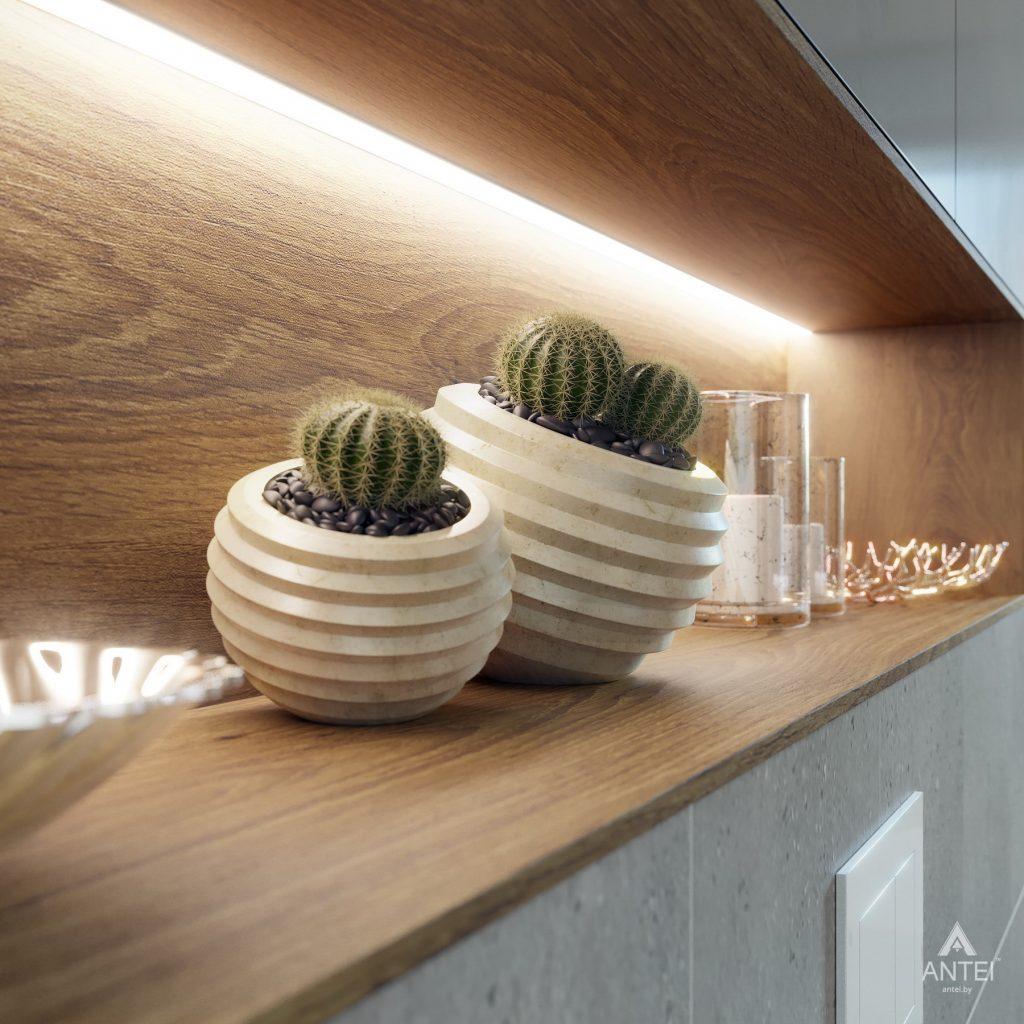 Дизайн интерьера одноэтажного загородного дома в д. Улуковье - ванная фото №9