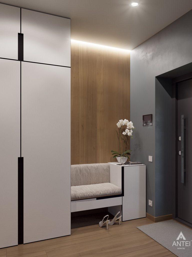 Дизайн интерьера одноэтажного загородного дома в д. Улуковье - кухня фото №7