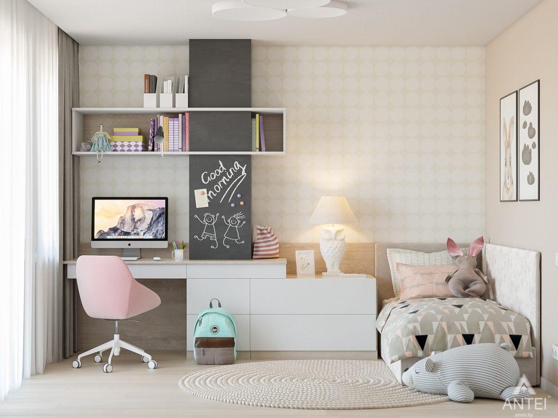 Дизайн интерьера таунхауса в Варшаве - детская комната фото №1