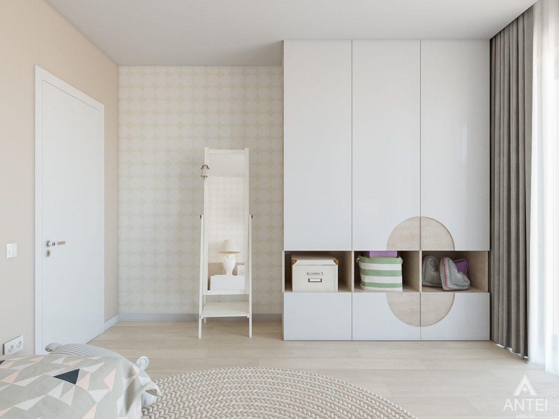 Дизайн интерьера таунхауса в Варшаве - детская комната фото №2