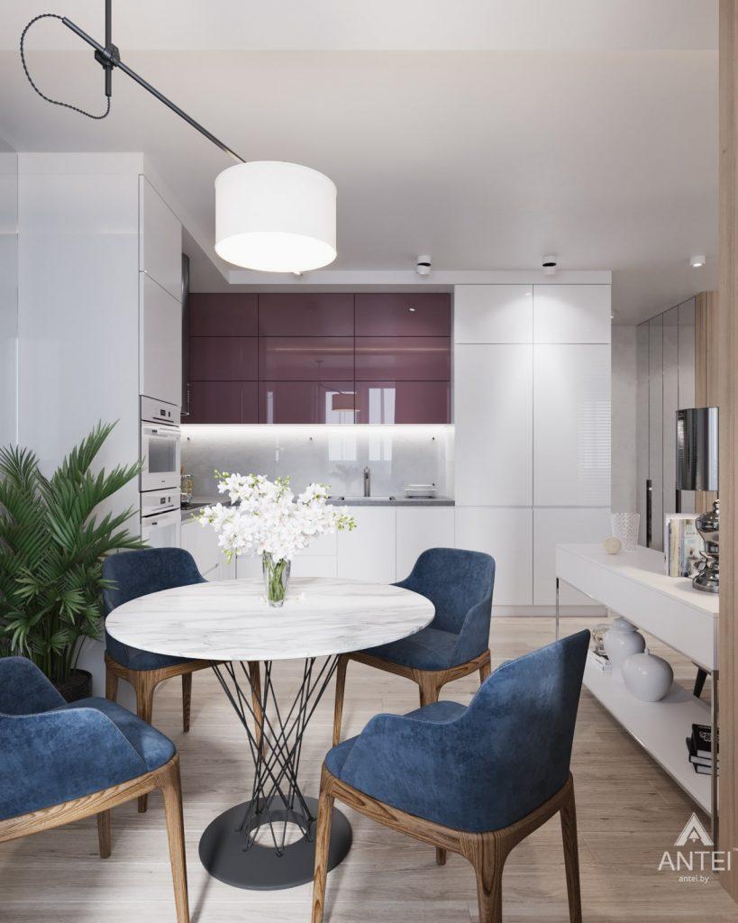 Дизайн интерьера трехкомнатная квартира в Минске, ул. Нововиленская - гостиная фото №3