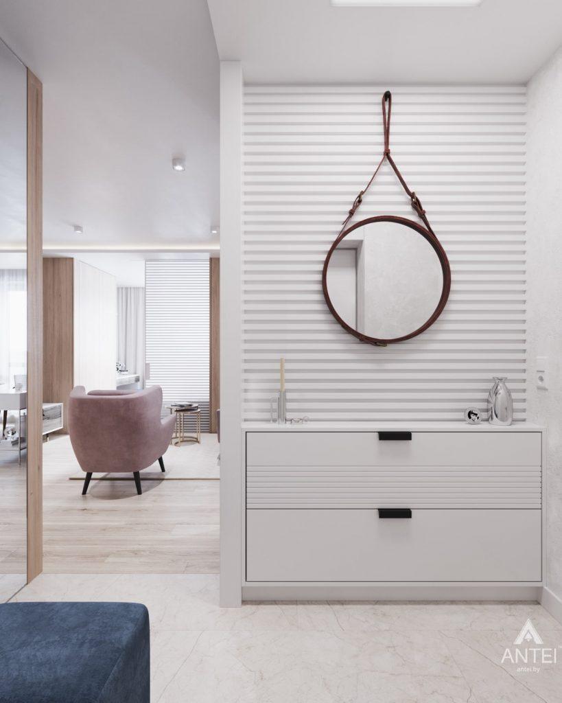 Дизайн интерьера трехкомнатная квартира в Минске, ул. Нововиленская - гостиная фото №7