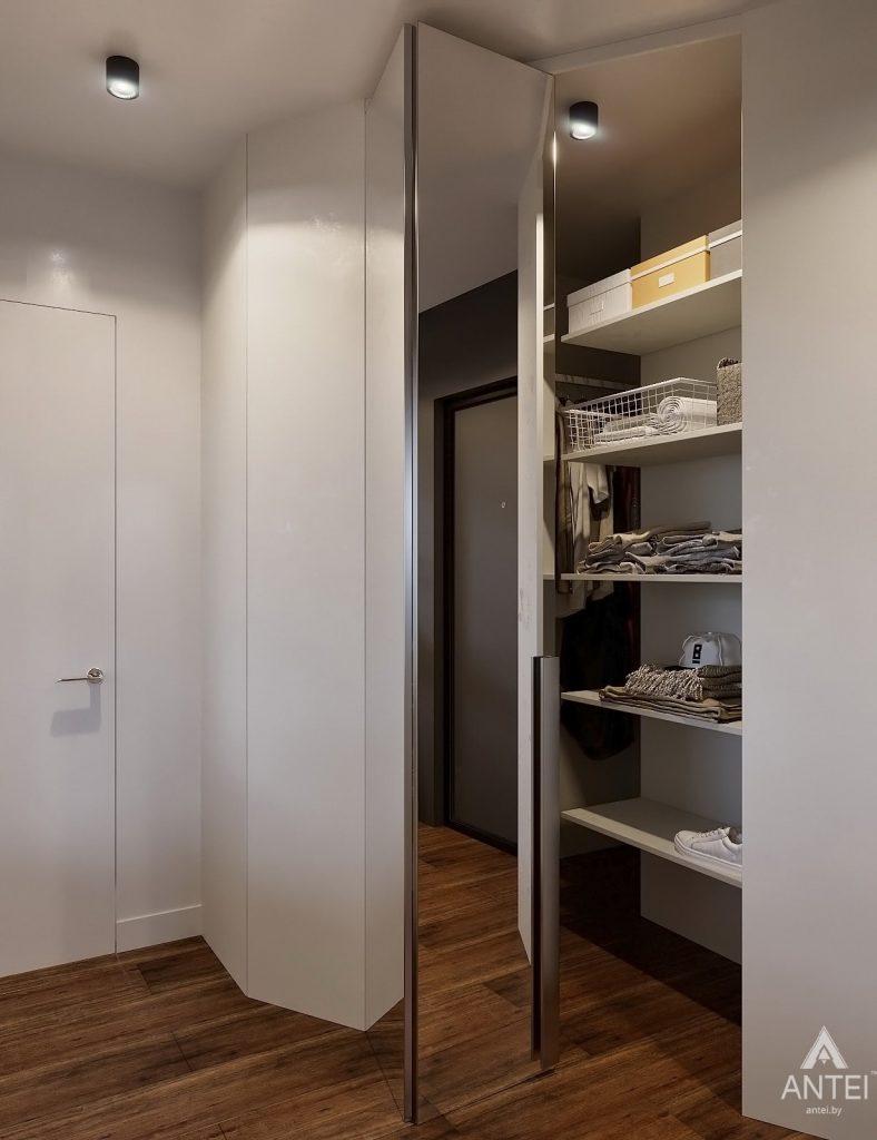Дизайн интерьера двухкомнатной квартиры в Гомеле, ул. Советская - прихожая фото №5