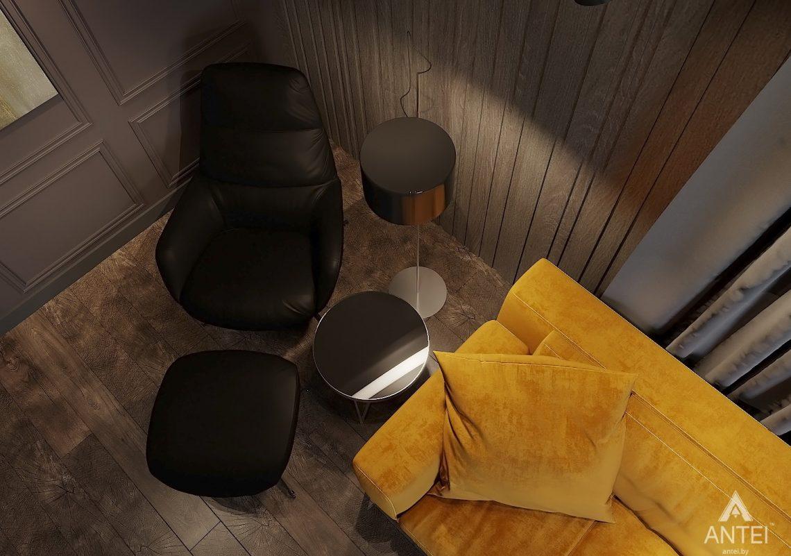 Дизайн интерьера двухкомнатной квартиры в Гомеле, ул. Советская - гостиная фото №7