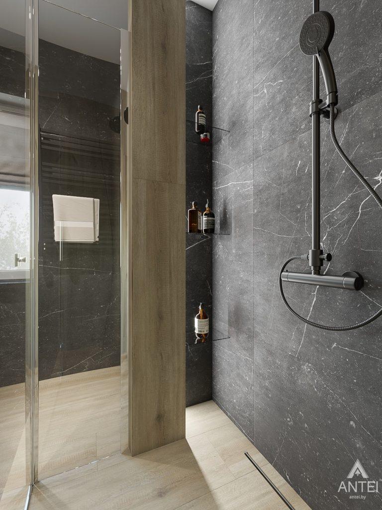 Дизайн интерьера таунхауса в Варшаве - санузел фото №9