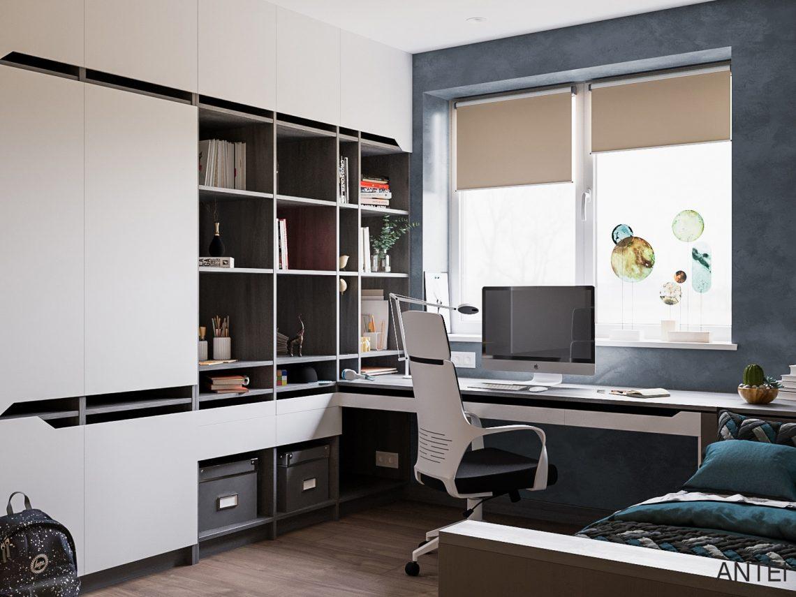 Дизайн интерьера трехкомнатная квартира в Гомеле, ул. Парижской Коммуны - детская комната фото №3
