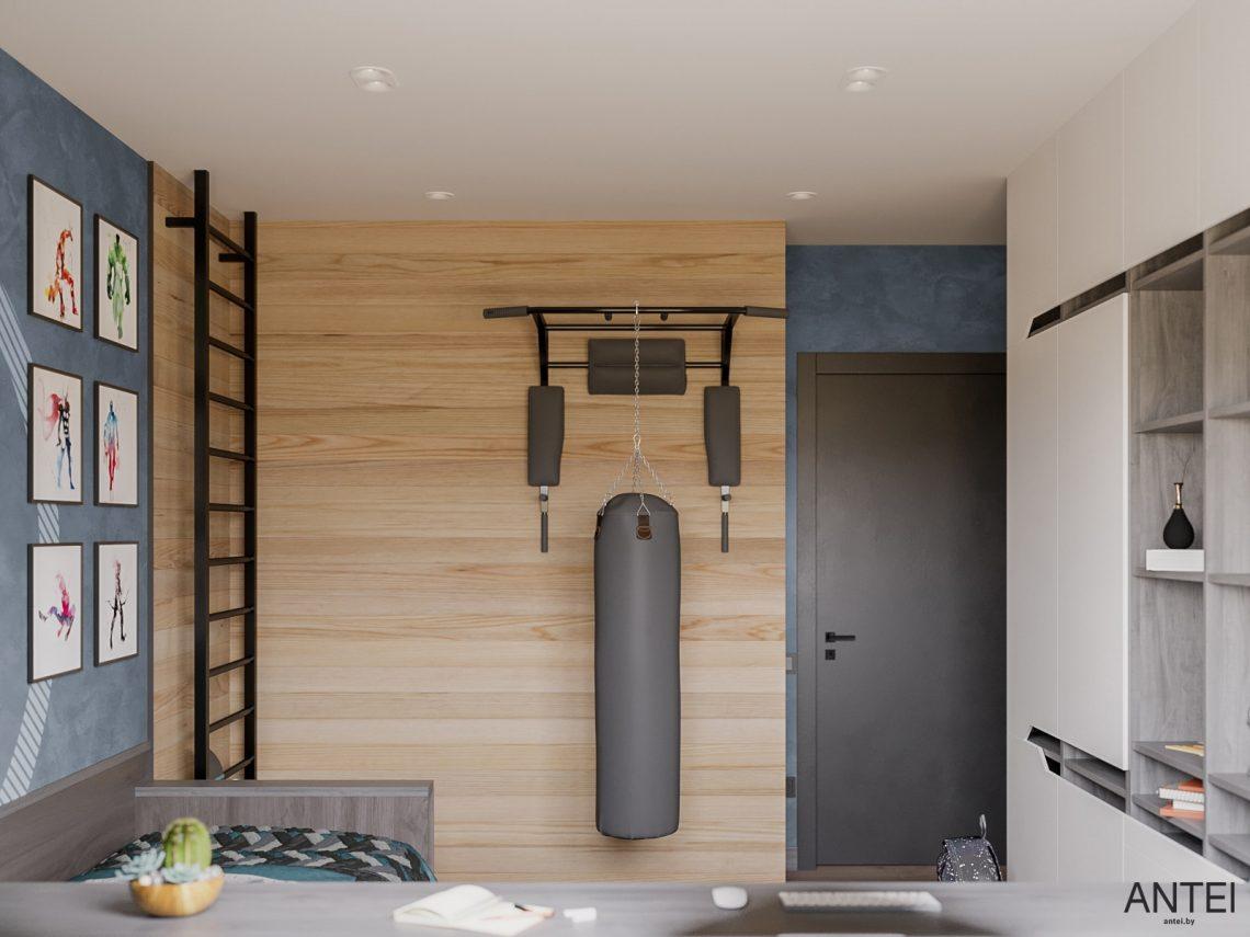 Дизайн интерьера трехкомнатная квартира в Гомеле, ул. Парижской Коммуны - детская комната фото №5