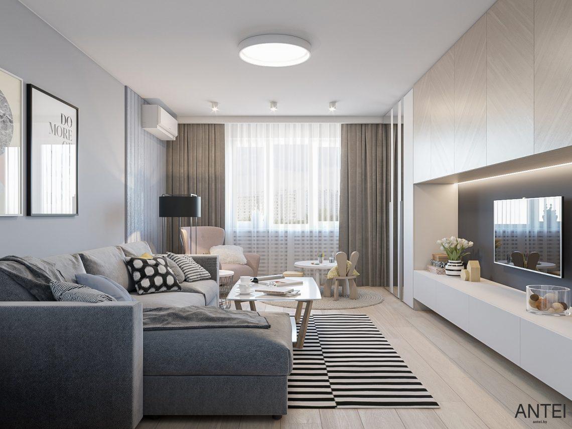 дизайнерские проекты двухкомнатных квартир фото получить