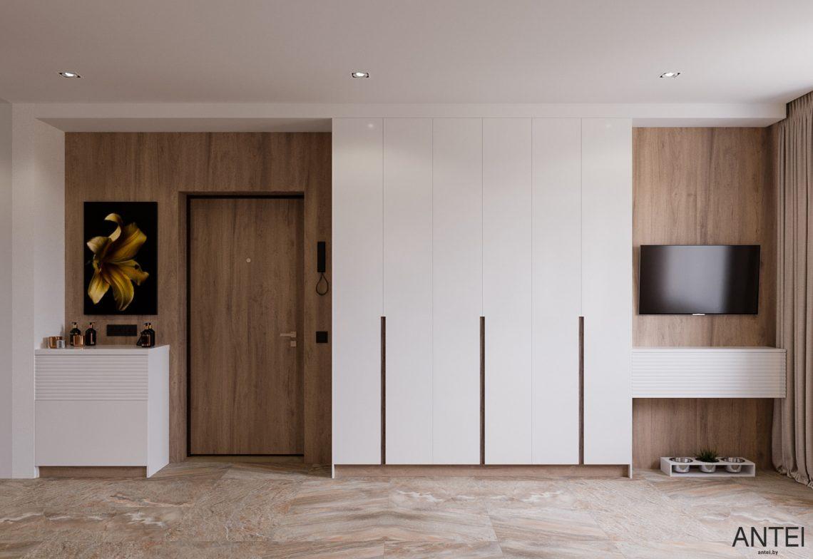 Дизайн интерьера трехкомнатная квартира в Гомеле, ул. Парижской Коммуны - гостиная фото №8