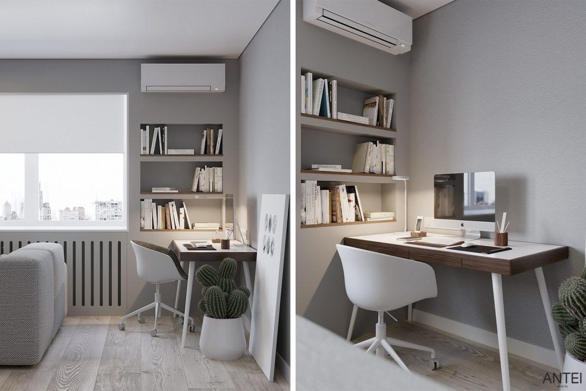 Дизайн интерьера однокомнатной квартиры в Гомеле, ул. Песина - гостиная фото №4