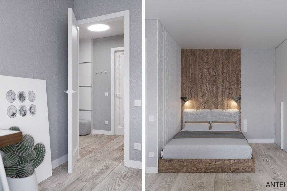 Дизайн интерьера однокомнатной квартиры в Гомеле, ул. Песина - гостиная фото №5
